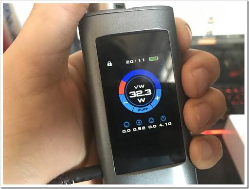 IMG 1577 thumb%25255B2%25255D - 【MP3プレイヤー搭載MOD】Joyetech OCUKAR Cレビュー!電話の代わりにVAPEを搭載した新時代MOD!タッチパネルは新時代のブームとなりうるか?【ガジェット風/万歩計/カレンダー】