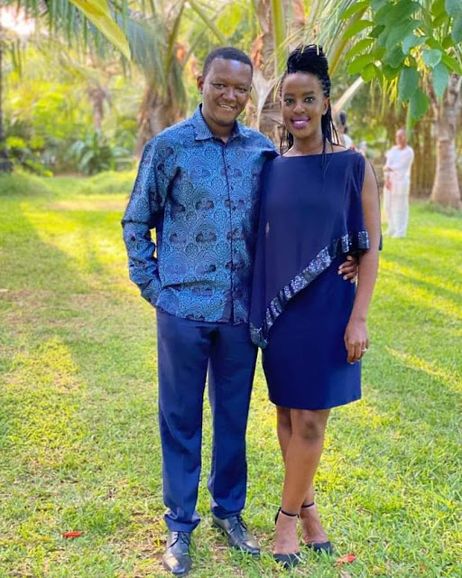 Machakos Governor Dr Alfred Mutua and his wife lilian