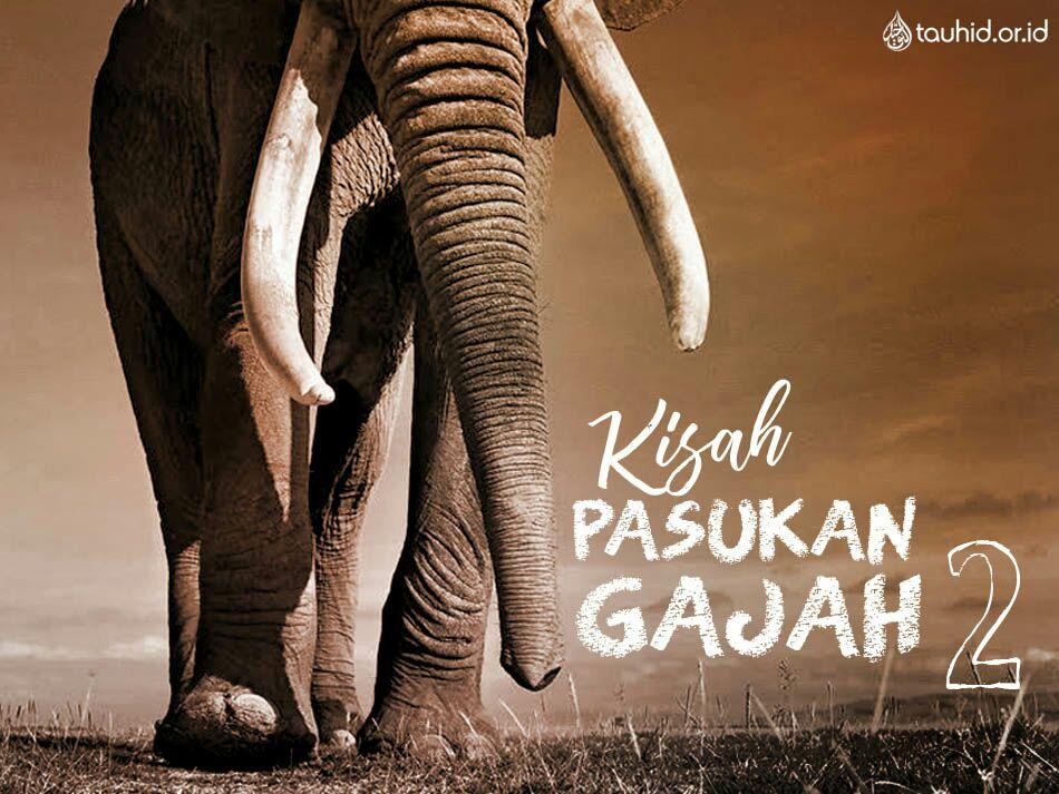 7 Kisah Pasukan Gajah 2 Buletin Tauhid Or Id