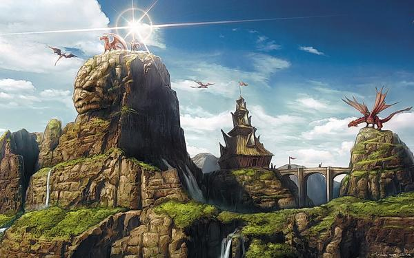 Hill Of Dragons, Magical Landscapes 2