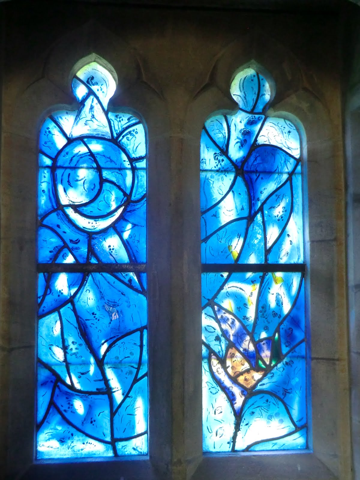 CIMG1560 Chagall window #2, All Saints church
