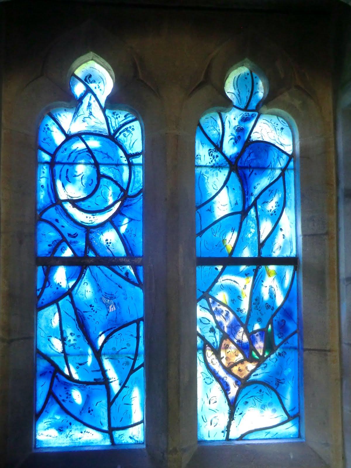 CIMG1560 Chagall window #2, All Saints church