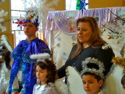 Доцент БДМУ Лілія Рак дякує дітям та колективу школи-інтернату за свято
