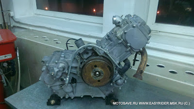 Двигатель Stels GT500