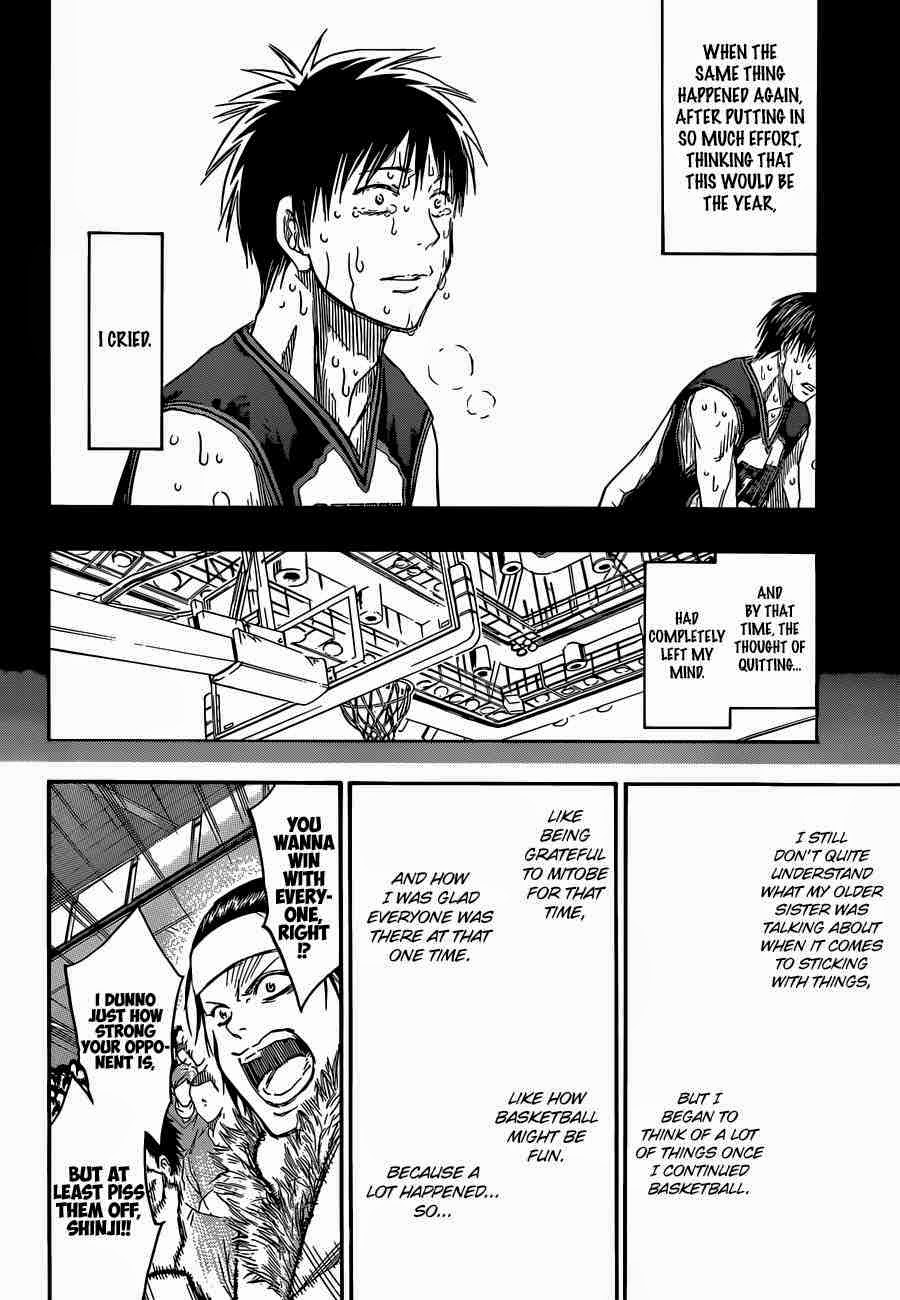 Kuroko no Basket Manga Chapter 256 - Image 14