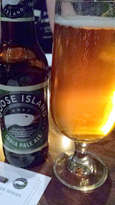 Welcome Beer: Goose Island IPA for the Raven and Rose and Goose Island Brewers' Dinner Series event on December 7, 2014
