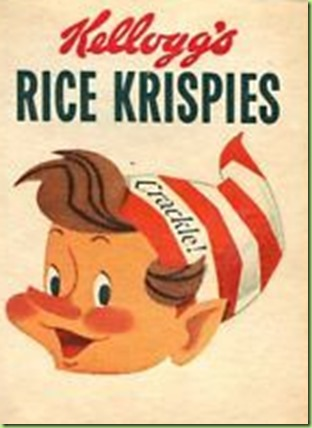 vintage rice krispies