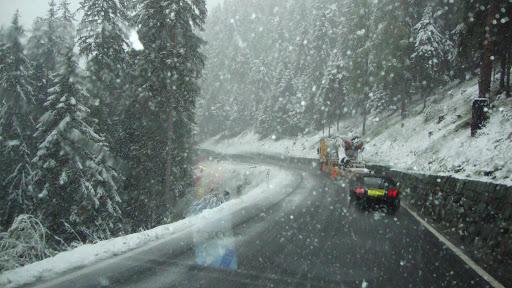 Bernina Pas (29 mei in de sneeuw)