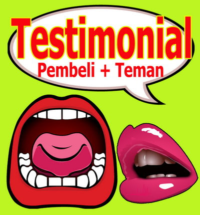 TESTIMONIAL PEMBELI diblog hsgautama blogspot ini