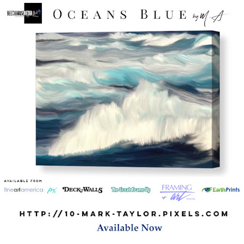 Oceans Blue by Mark Taylor