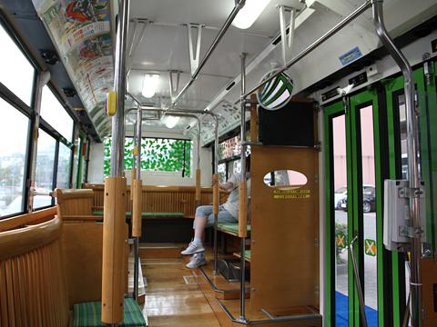 西日本鉄道 福岡シティループバス「ぐりーん」 5721 車内
