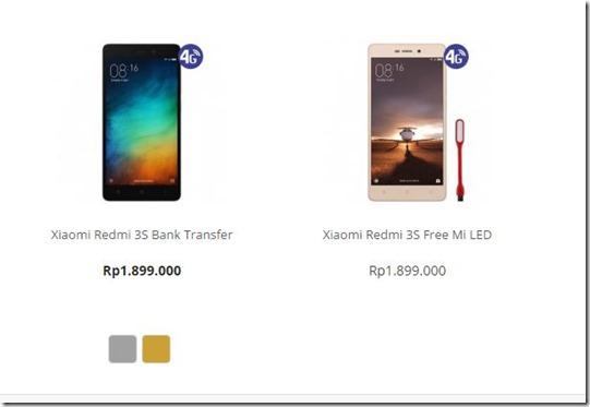 Pre-order Xiaomi Redmi 3S Resmi Dibuka di Indonesia