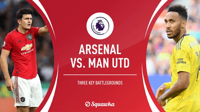 Sky Sports Pundit gives possible lineup and predict outcome of Arsenal Vs. Manchester United clash