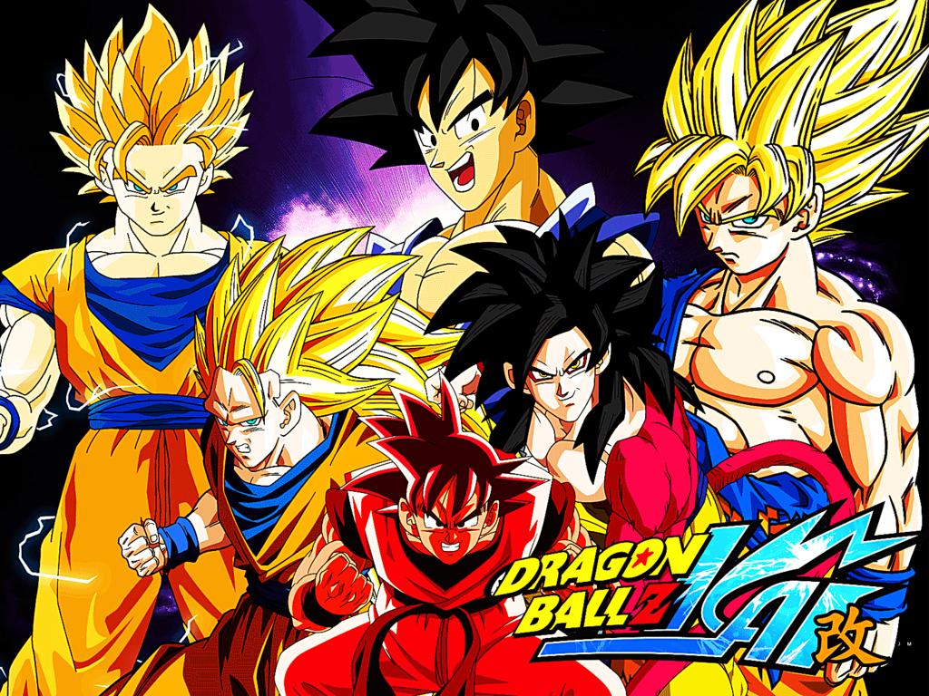 Todas Las Fases De Goku Para Colorear: Imagenes De Fases De Goku