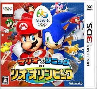[GAMES] マリオ&ソニック AT リオオリンピック (3DS/JPN)