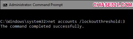 hướng dẫn khóa máy tính tạm thời khi người khác đăng nhập không được