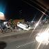 Carro capota após ser atingido por outro veículo em Manaus