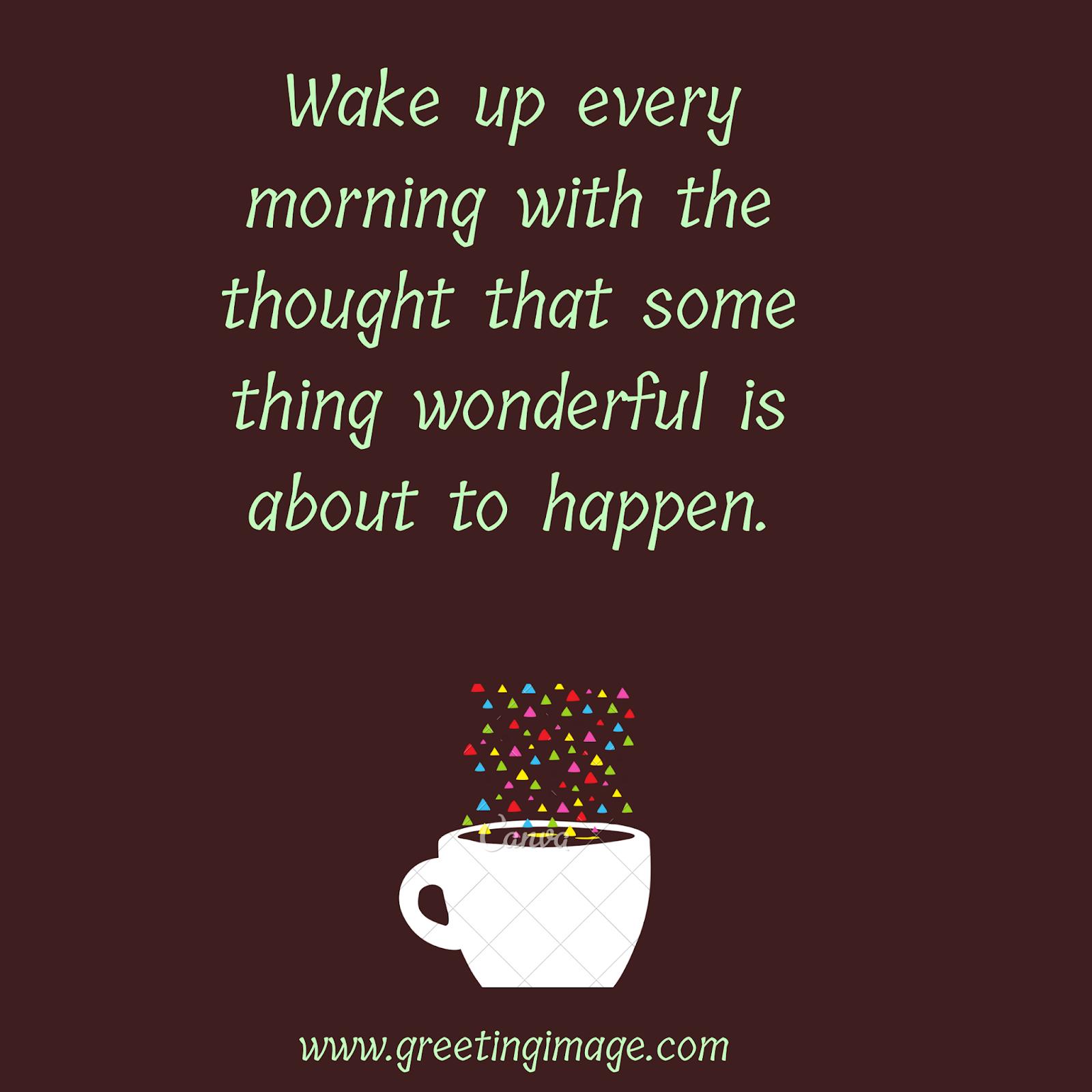 Good morning slogan Images
