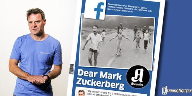 Tổng biên tập Espen Egil Hansen gửi thư chỉ trích CEO Facebook về hành động này.