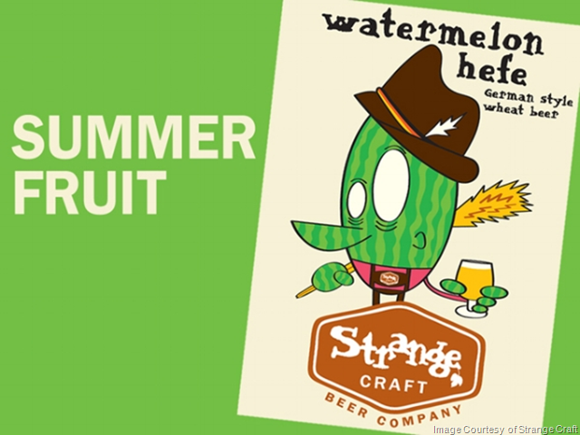 Strange Craft Beer Co. To Release Watermelon Hefe 7/4