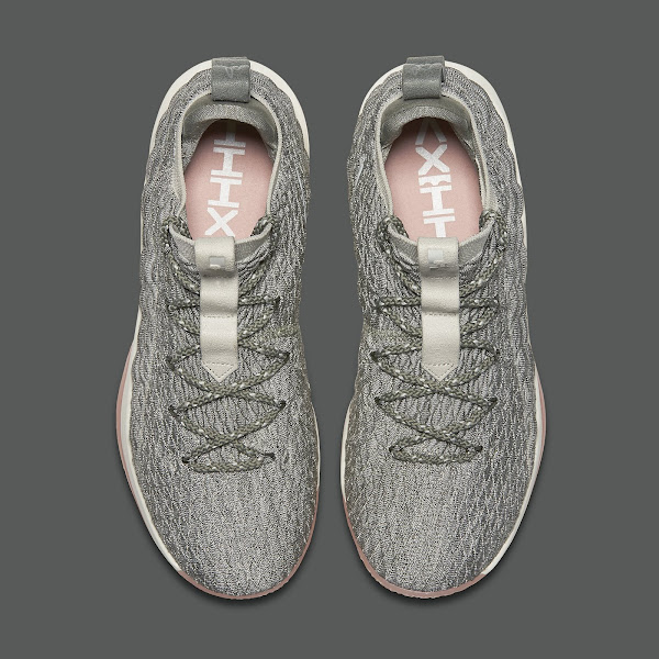 Light Bone Nike LeBron XV Low  Catalog Images