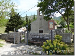 Croatia Camping Guide- Camping Sibinj, Church