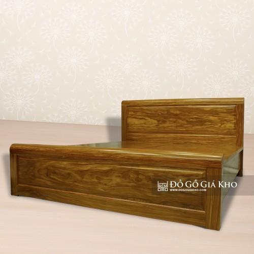 Giường ngủ gỗ Cẩm Vàng - GN139-8