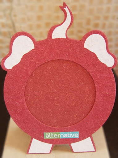 The Alternative Handmade Paper Elephant Photo Frame