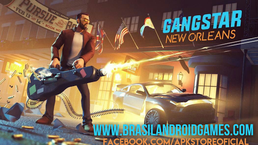 Gangstar New Orleans Android APK MOD DINHEIRO INFINITO OBB Data
