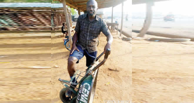 DEPRESSION: Why I dropped out of medical school at 500L, ended up as cart pusher –Benue man