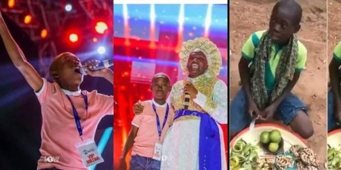Viral Orange Seller, Ayomide Receives Scholarship (Photos)