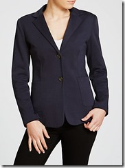 Weekend MaxMara Ultramarine Jersey  Jacket