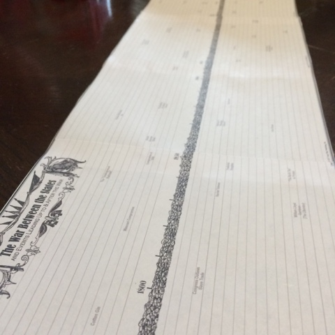 We're building a Civil War timeline foldout for our Book of Centuries.