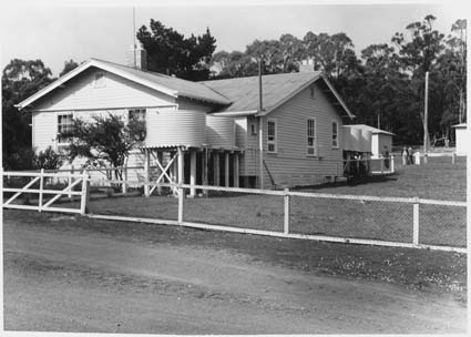 Bruny Island Quarantine Station - Caretakers quarters - From north (RHS) Date : 1945