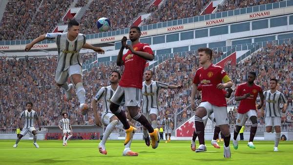 تنزيل لعبة eFootball PES 2021 مهكرة آخر اصدار apk obb