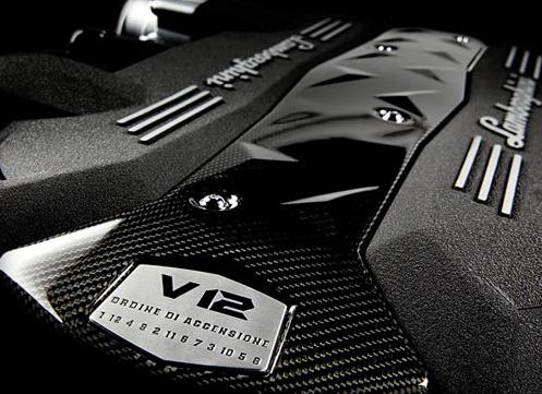Lamborghini Avendator Engine