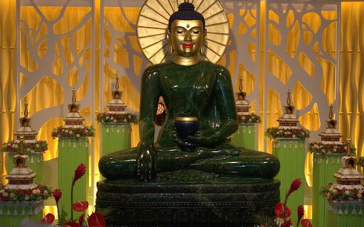 Jade Buddha for Universal Peace, Kuala Lumpur, Malaysia, March 15, 2013. Photo by Bill Kane.