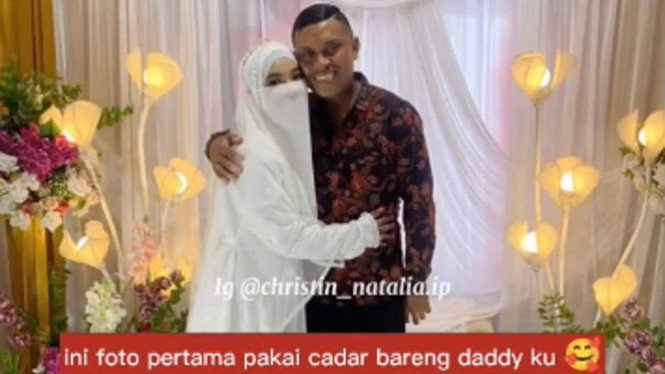 Viral Video Pendeta Hadiri Pernikahan Anaknya yang Muslim Bercadar