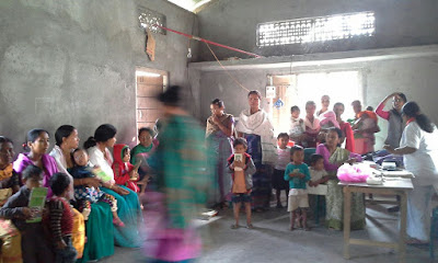 Support visit to Chaibari, Udalguri