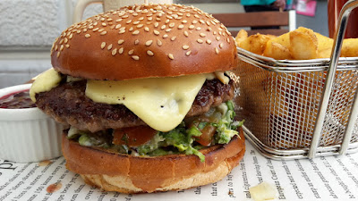 Leberkassemmel und mehr: Blue Mountain Burger