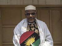 #Biafra : Nnamdi kanu is going back to prison - FG