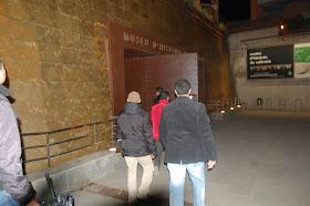 Visita al Patrimonío Andalusí del Museo de Historia de Valencia (MHV). 20 de diciembre de 2012