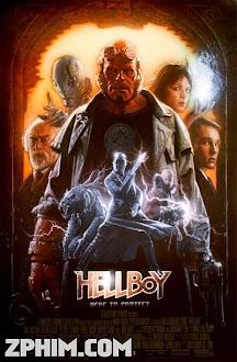 Quỷ Đỏ - Hellboy (2004) Poster
