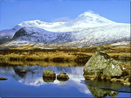 Clach Leathad  and Meall a' Bhuiridh, Lochaber, Scotland.jpg