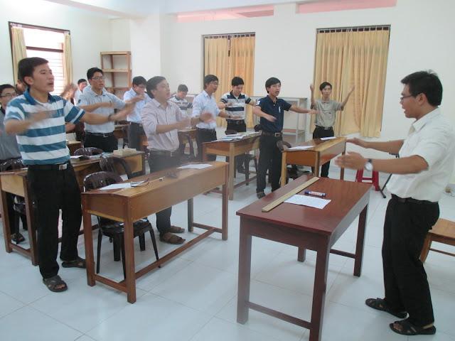 Khóa bồi dưỡng thánh nhạc của Các Chủng sinh Lâm Bích tại Chủng Viện Lâm Bích (17 - 19.8.2015)