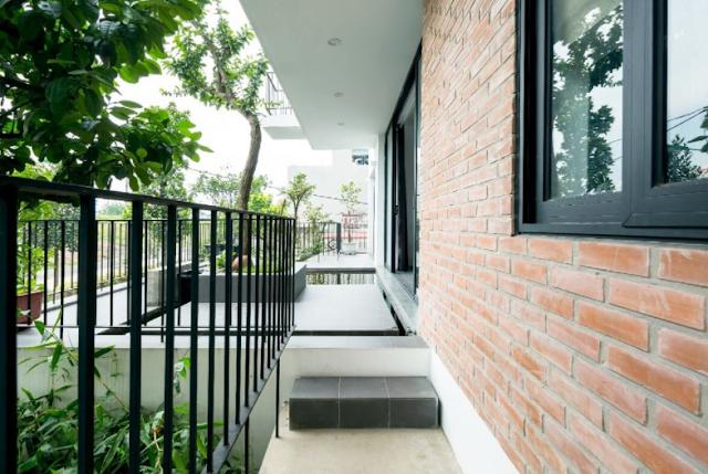 Thiết kế kiến trúc hiện đại 469m2 với thiết kế  không gian đẹp lạ ở Yên Nghĩa