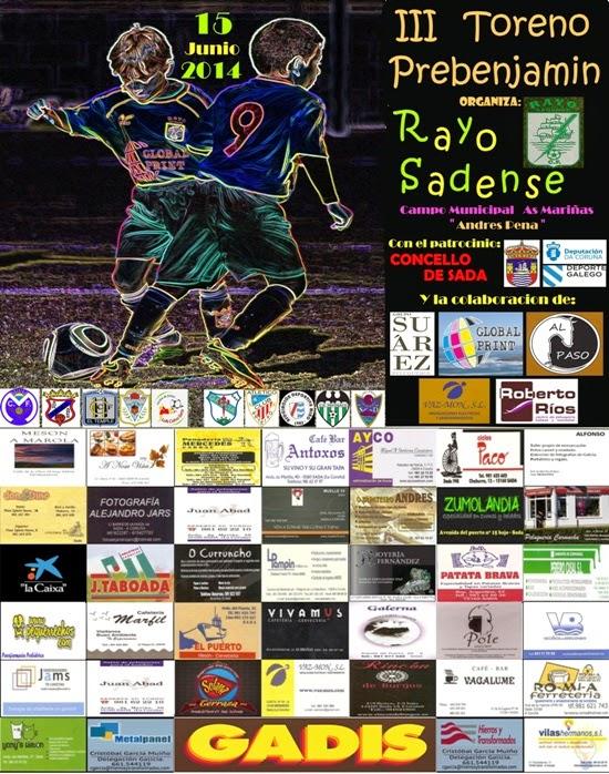 Numancia de Ares ADR. III Torneo Prebenjamin Rayo Sadense 2014.