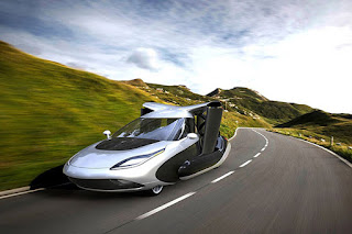 Terrafugia TFX flying car