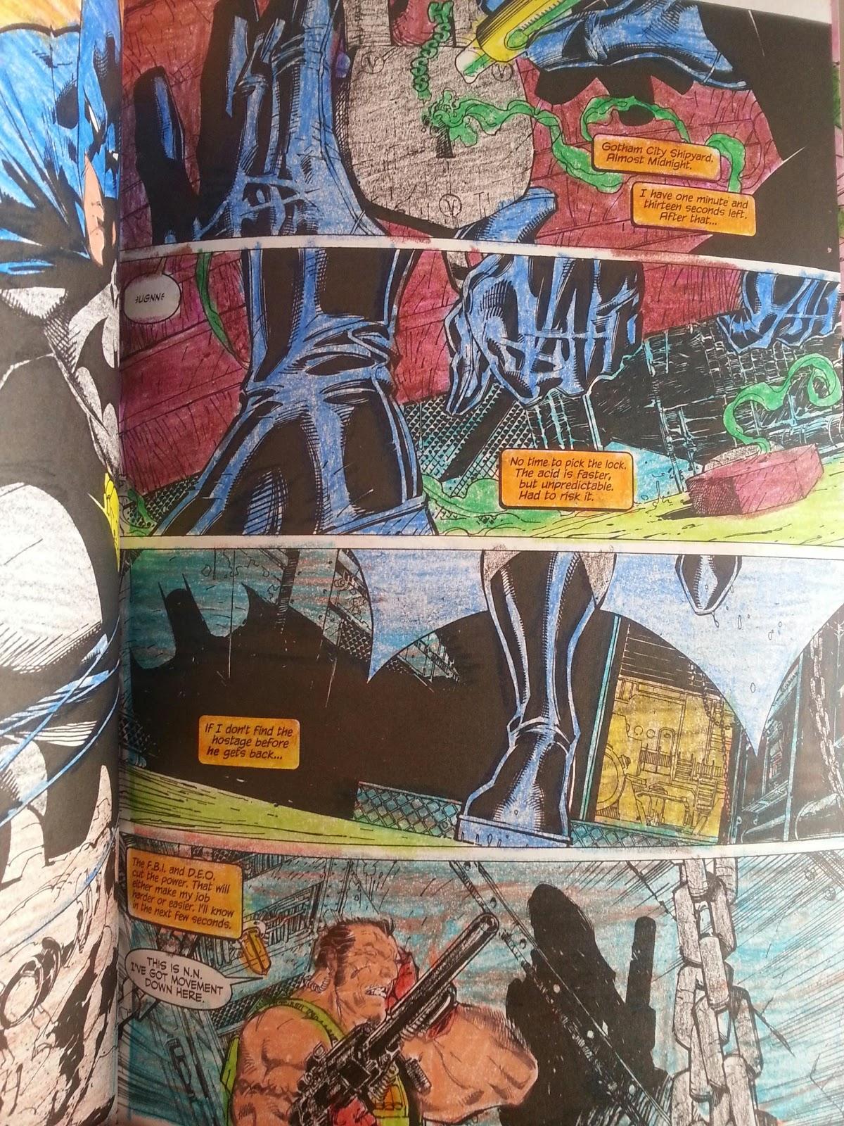 Comic Book Rehab Art Therapy Batman Hush Coloring Part