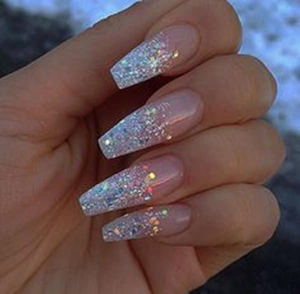 Long Pointed Acrylic Nails - Best Nail Design 2018